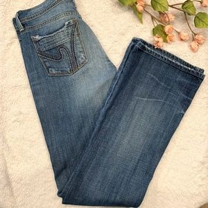 Citizens of Humanity Ingrid Low Rise Flare Jean